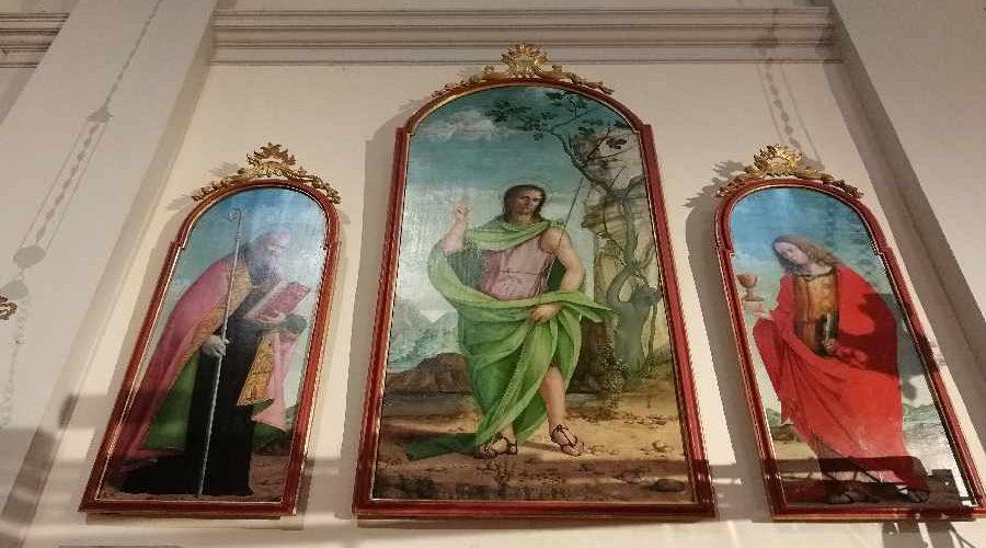 dipinti chiesa
